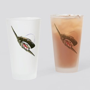 Flying Tigers Drinking Glass