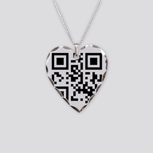 QR code Oliver Necklace Heart Charm
