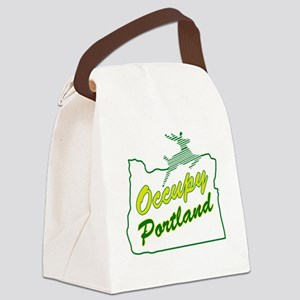 Occupy Portland Canvas Lunch Bag