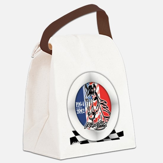 MUSTANGHORSE201264 Canvas Lunch Bag