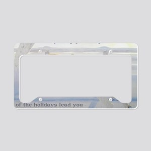SpinoneHolidayCard License Plate Holder