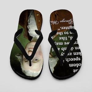 george-washington-freedom-of-speech-quo Flip Flops