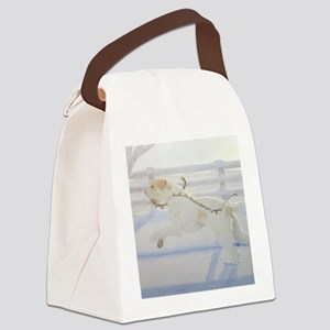 SpinoneWinter Canvas Lunch Bag