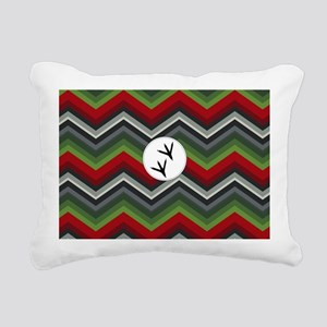 Hummingbird coin purse Rectangular Canvas Pillow