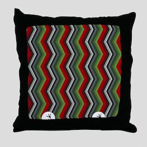 Hummingbird flip flops Throw Pillow