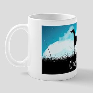 nightsky(licenseplate) Mug