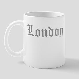 "London ""Old English"" Grey - Mug"
