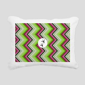 Hummingbird shoulder bag Rectangular Canvas Pillow
