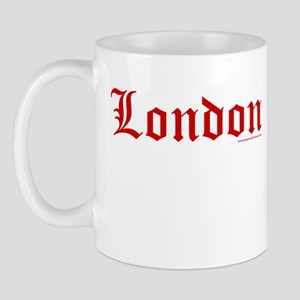 "London ""Old English Red"" - Mug"