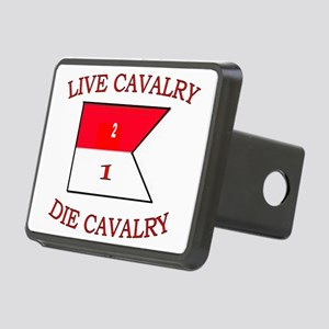 2nd Squadron 1st Cavalry C Rectangular Hitch Cover