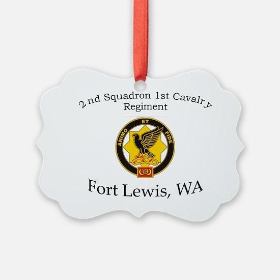2nd Squadron 1st Cavalry Ornament