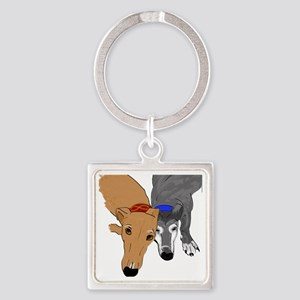 Drawn Together Square Keychain