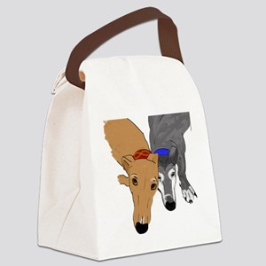 Drawn Together Canvas Lunch Bag