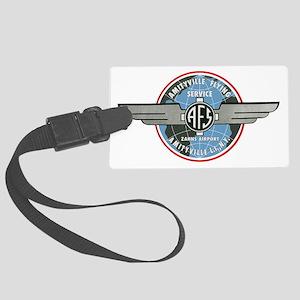 AFS Logo Crop () Large Luggage Tag