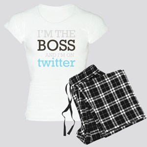 BossTwitter Women's Light Pajamas
