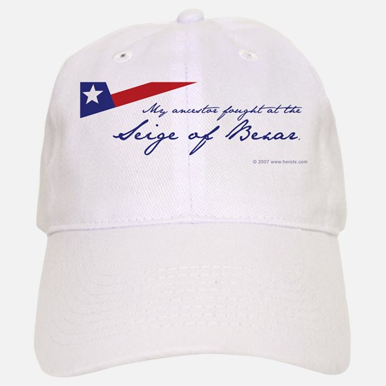 Siege of Bexar Baseball Baseball Cap