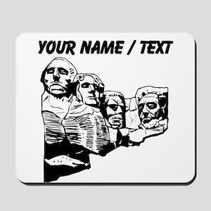 Custom Mount Rushmore Mousepad