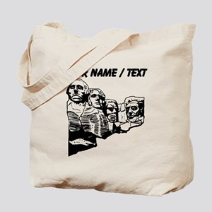 Custom Mount Rushmore Tote Bag