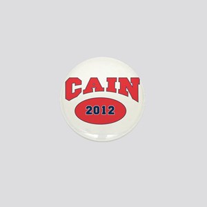 CAIN RED FONT Mini Button