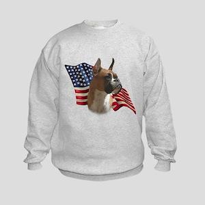 Boxer Flag Kids Sweatshirt