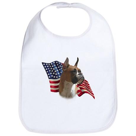 Boxer Flag Bib
