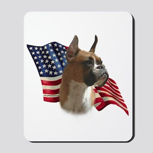 Boxer Flag Mousepad