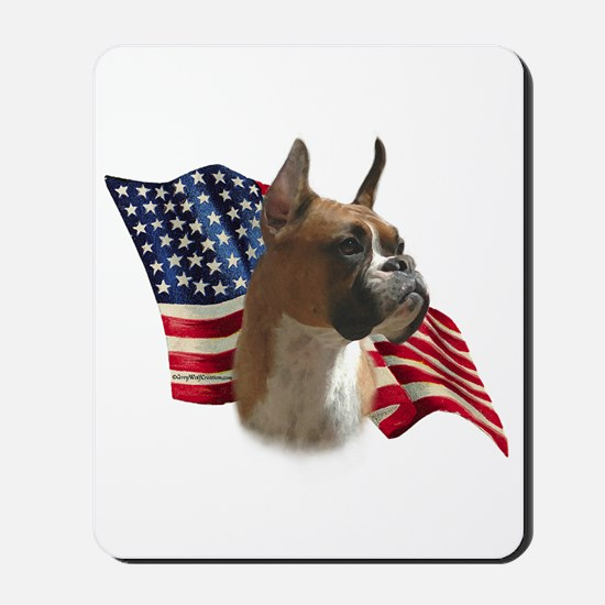 Boxer Flag Mousepad
