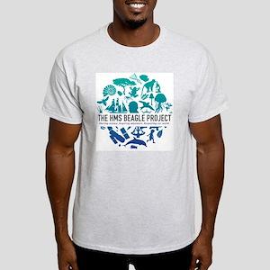 logo-text-center-01 Light T-Shirt
