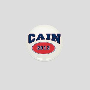 CAIN BLUE FONT Mini Button