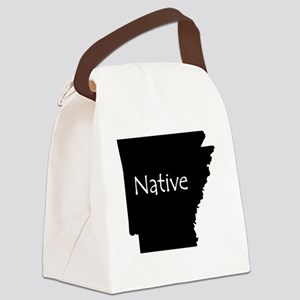 ArkansasNative-light Canvas Lunch Bag