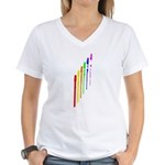Tin Whistles Ascending Women's V-Neck T-Shirt