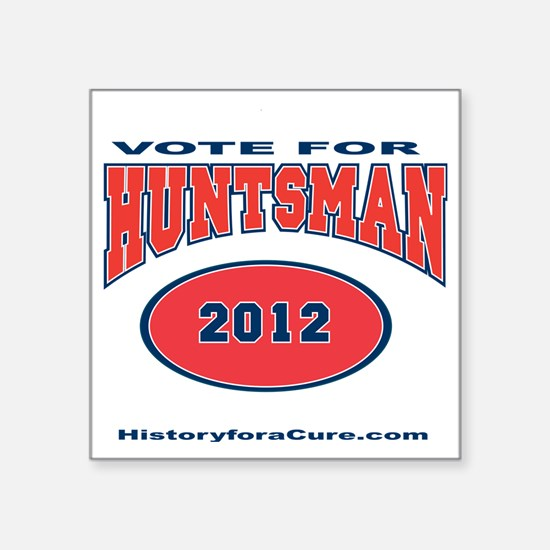 "HUNTSMAN LIGHT SHIRT Square Sticker 3"" x 3"""