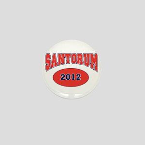 SANTORUM RED FONT Mini Button