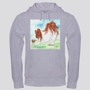 Hooded Sweatshirt Papillon