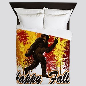 Big Foot Fall Queen Duvet