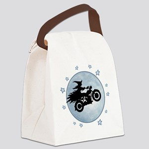 witch-biker-moon-T Canvas Lunch Bag