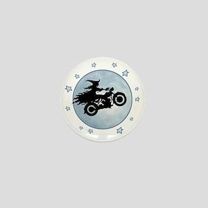 witch-biker-moon-T Mini Button