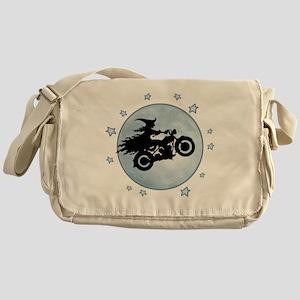witch-biker-moon-T Messenger Bag