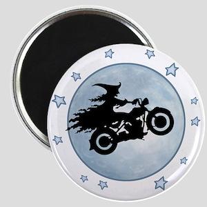 witch-biker-moon-T Magnet