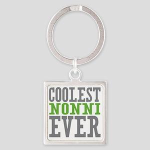 Coolest Nonni Square Keychain