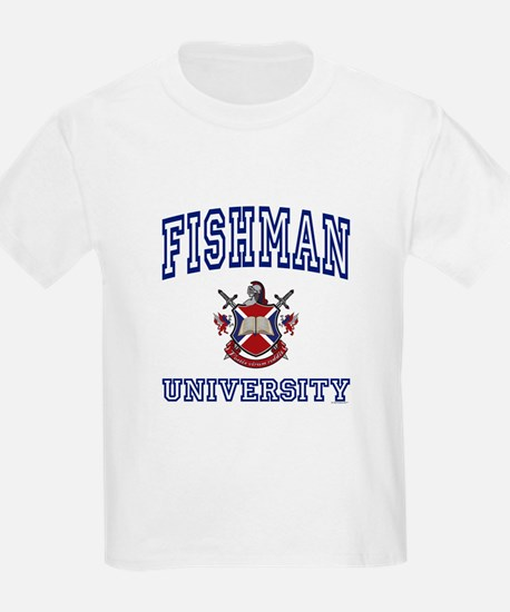 FISHMAN University Kids T-Shirt