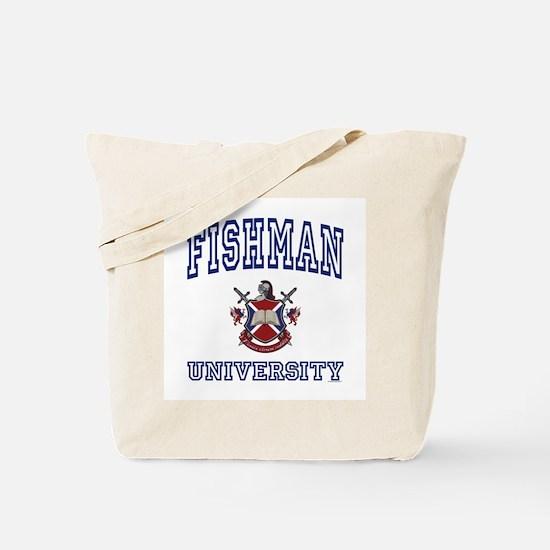 FISHMAN University Tote Bag
