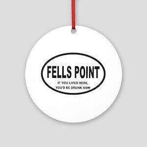 Fells Point Ornament (Round)