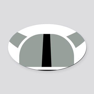 viking_hat Oval Car Magnet