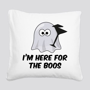 boos1 Square Canvas Pillow