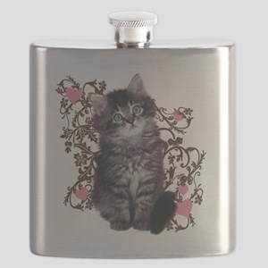 9976452442Floralkitty Flask