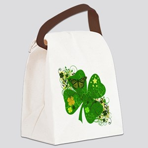 jj8cloverFL554330 Canvas Lunch Bag