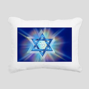 starradial_longstickers_ Rectangular Canvas Pillow