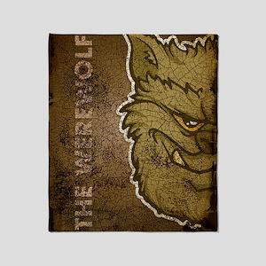 18x13-6_werewolfgray_txt_bg01 Throw Blanket