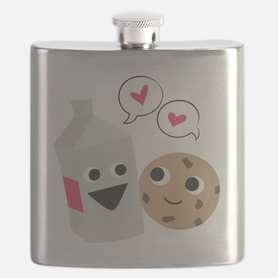 Milk  Cookie Love Flask